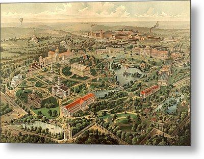 Tennessee Centennial Exposition, Nashville Metal Print by Litz Collection