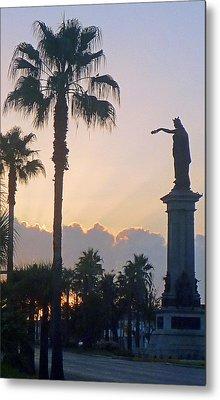 Texas Heros Monument - Galveston Metal Print