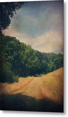 The Adventure Begins Metal Print by Laurie Search