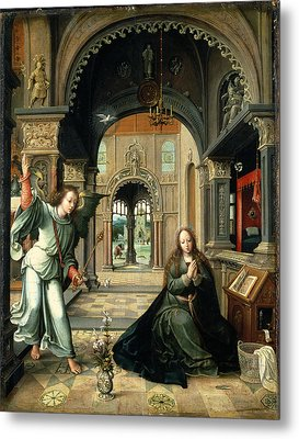 The Annunciation, Early 16th Century Metal Print