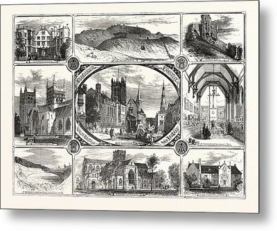 The Archeological Institute Of Great Britain And Ireland Metal Print by Irish School