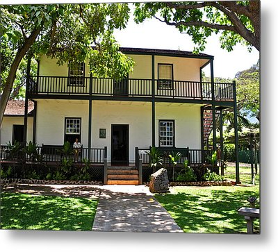 The Baldwin House In Lahaina I Metal Print by Kirsten Giving