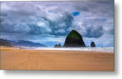 The Beautiful Cannon Beach Metal Print by David Patterson