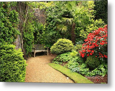 The Beautiful Garden Metal Print by Boon Mee