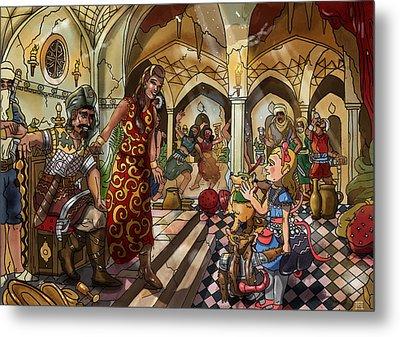 The Cave Of Ali Baba Metal Print