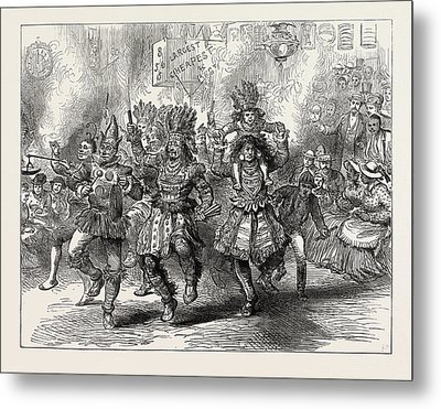 The Centennial Celebration Of American Independence An Metal Print