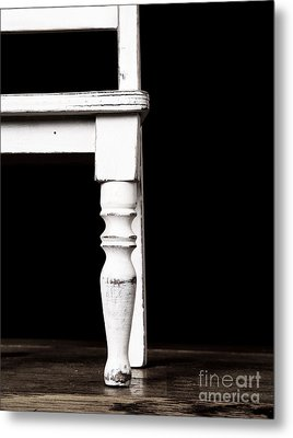 The Chair Metal Print by Edward Fielding