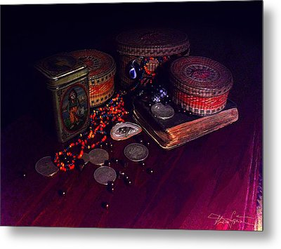 The Child With The Ark Metal Print by Ciprian Alexandrescu