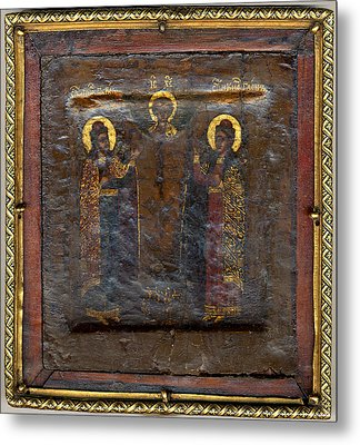 The Christ Child With Saints Boris Metal Print