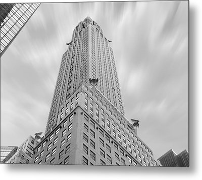 The Chrysler Building Metal Print by Mike McGlothlen