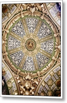 The Church San Juan Del Hospital Of The Orden Opus Dei In Valencia. Metal Print by For Ninety One Days
