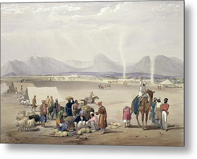 The City Of Candahar, From Sketches Metal Print