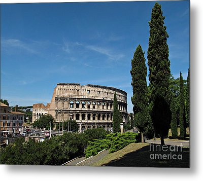 The Colosseum In Rome Metal Print by Kiril Stanchev