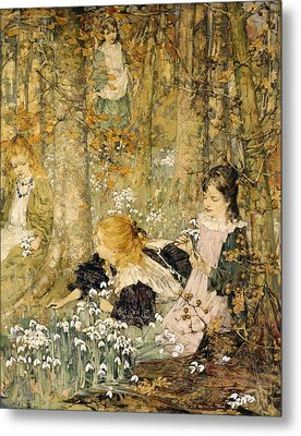 The Coming Of Spring, 1899 Metal Print