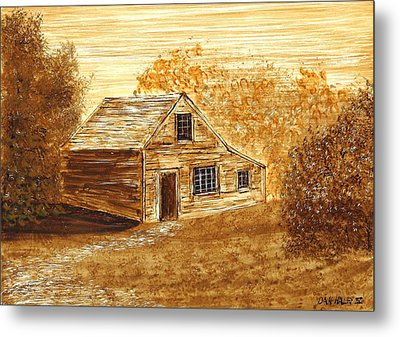 The Cooper's House Metal Print by Dan Haley