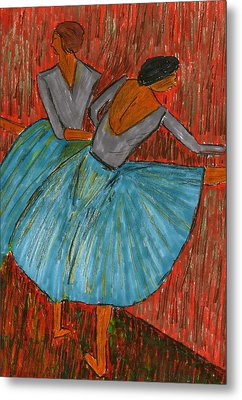 The Dancers Metal Print by John Giardina