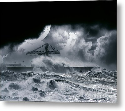 The Dark Storm Metal Print by Boon Mee