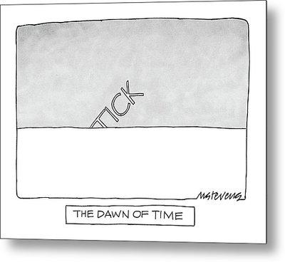 The Dawn Of Time Metal Print