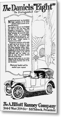 The Distinguished Car Of  1916 Metal Print by Daniel Hagerman