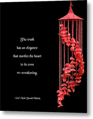 The Elegance Of Truth Metal Print by Mike Flynn
