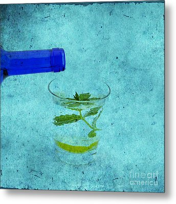 The Essence Of Life Metal Print by Patricia Hofmeester