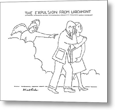 The Expulsion From Larchmont Metal Print
