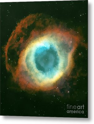 The Eye Metal Print by Odon Czintos