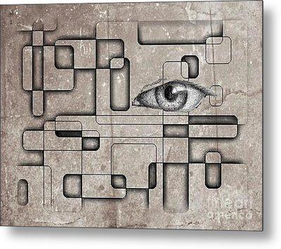 The Eye Of Big Brother Metal Print by John Malone