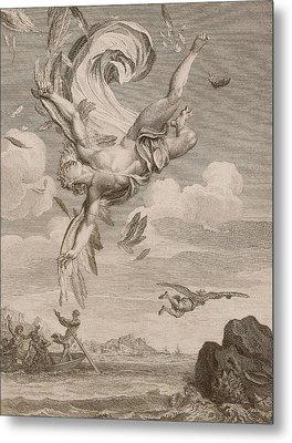 The Fall Of Icarus, 1731 Metal Print