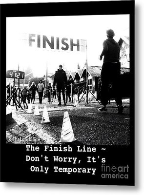 The Finish Line Metal Print by Ronnie Glover