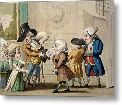 The First Approach, C.1790 Metal Print