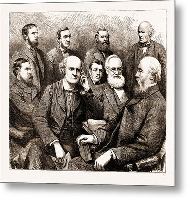 The Forthcoming Meeting Of The British Association, 1883 Metal Print by Litz Collection