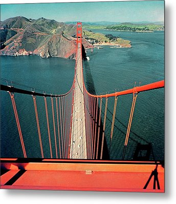 The Golden Gate Bridge Metal Print by Serge Balkin