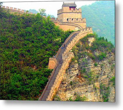 Metal Print featuring the photograph The Great Wall 2 by Kay Gilley