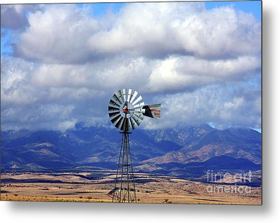 The Great Western Windmill Metal Print