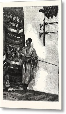 The Guard Of The Harem Metal Print by English School