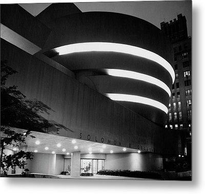 The Guggenheim Museum In New York City Metal Print