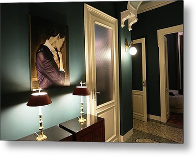 The Hall Metal Print by Roberto Galli della Loggia