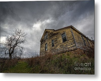 The Haunted Color Metal Print by Michael Ver Sprill
