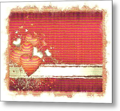 Metal Print featuring the digital art The Heart Knows by Liane Wright