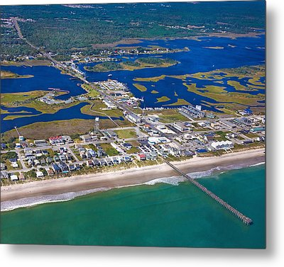 The Heart Of Topsail Metal Print by Betsy Knapp