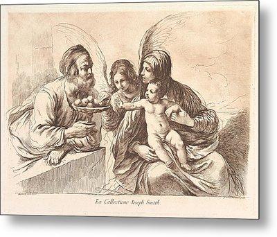 The Holy Family, The Christ Child Metal Print by Francesco Bartolozzi