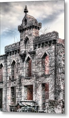 The Hospital Metal Print by JC Findley