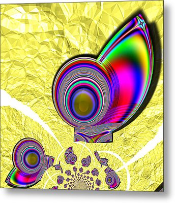 The Incompetent Nanny Metal Print by Wendy J St Christopher