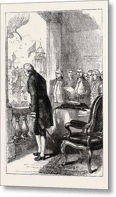 The Installation Of George Washington, United States Metal Print