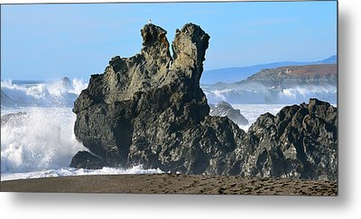 The Kissing Rocks Metal Print