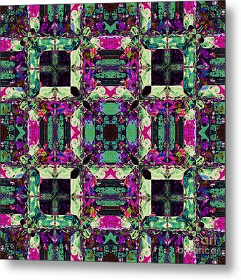 The Last Supper Abstract 20130130m68 Metal Print by Wingsdomain Art and Photography