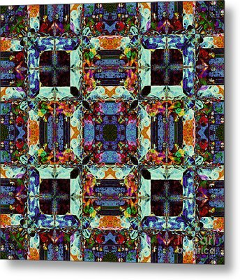 The Last Supper Abstract 20130130p0 Metal Print by Wingsdomain Art and Photography