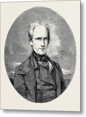 The Late Henry Clay Metal Print by English School