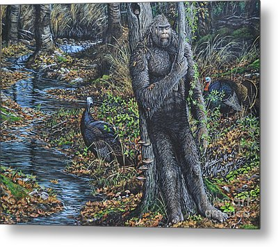 The Legend Of Gobble Creek Metal Print